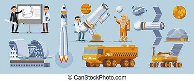 Space Exploration Elements Collection - Space exploration...