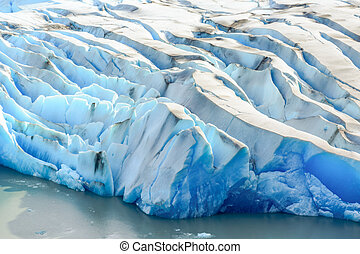 Grey Glacier,Patagonia, Chile,Patagonian Ice Field,...