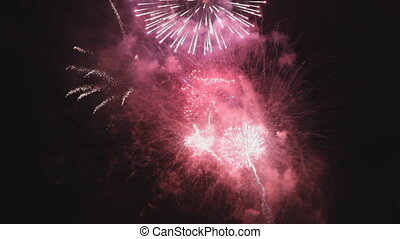 Fireworks - Great fireworks display Intense, with lots of...