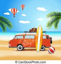 Travel on the van