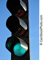 Green Light - Traffic light signaling green light