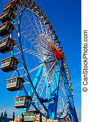 Ferris wheel Munich - Ferris wheel at the Oktoberfest in...
