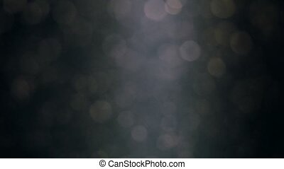 Abstract background with beautiful flickering particles. Underwater bubbles in flow with bokeh. 3840x2160, 4k
