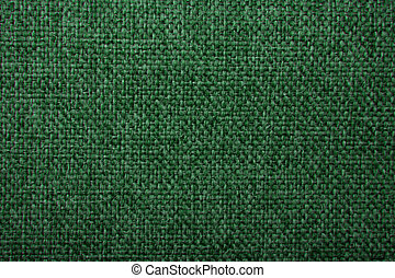 fabric texture green gobelin for background