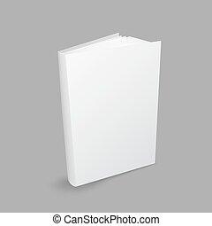 Closed white book