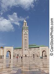 Hassan II Mosque in Casablanca - The Hassan II Mosque in...