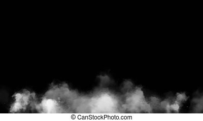 Mysterious smoke. Smoke shrouded in mystery - Smoke shrouded...