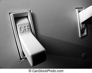 Light Switch for On and Off Power Illumination - Light...
