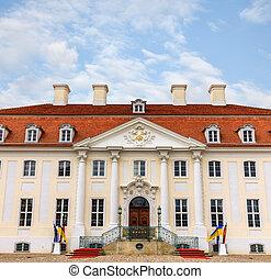 Schloss Meseberg is a Baroque castle 65 km north of Berlin...