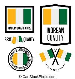 Cote D'ivoire quality label set for goods - Cote D'ivoire...