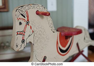 rockender, Pferd