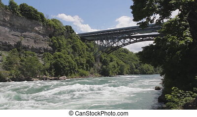 Niagara river and Whirlpool bridge - Intense Class 6...