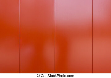 Shiney red metal plate for texture and background