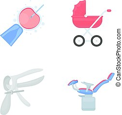 Artificial insemination, baby carriage, instrument,...