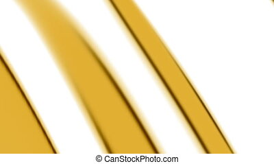 Yellow and white abstract looping simplistic animated CG...