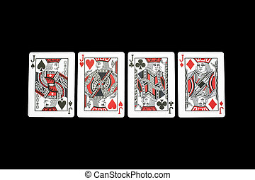 Poker playing cards