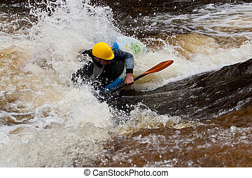Whitewater freestyle