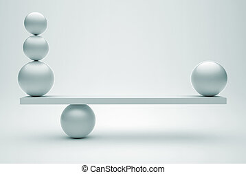 Spheres in equilibrium - Spheres in balance - this is a 3d...