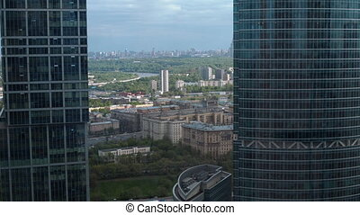 Moscow in Sunny spring day