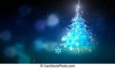 One Christmas Tree and Flicker