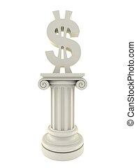 Dollar pillar