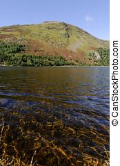 Llyn Gwynant - View of Llyn Gwynant in Snowdonia National...