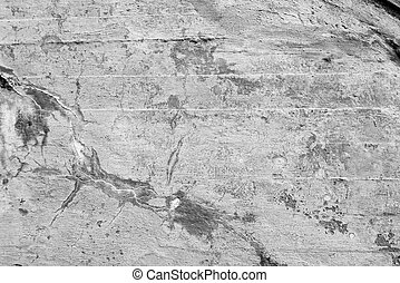 Old gray grunge concrete wall