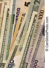 Part of paper currency - Top Part of paper currency