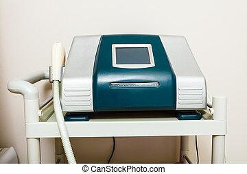 Professional machine in beautician spa salon - Profession...