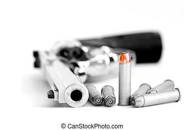 Bullets and Gun for Military or Self Defense