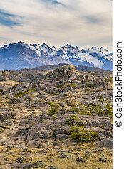 Snowy Mountains, Parque Nacional Los Glaciares, Patagonia -...