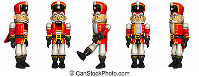 Nutcracker - 3d render of an nutcracker