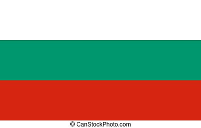 Flag of Bulgaria, vector illustration