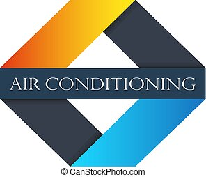 Air conditioning sign - Air conditioning and ventilation...