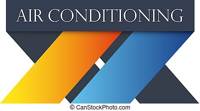 Air conditioning vector - Air conditioning and ventilation...