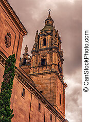 Salamanca, Spain: The New Cathedral, Catedral Nueva at the...