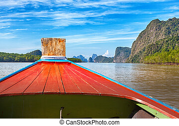 Boat trip to tropical islands from Phuket, Krabi in...