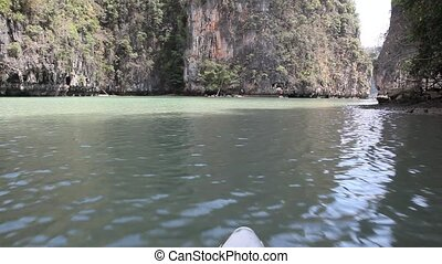 Boat trip to tropical islands from Phuket - PHI PHI ISLAND -...