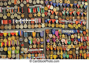軍, メダル
