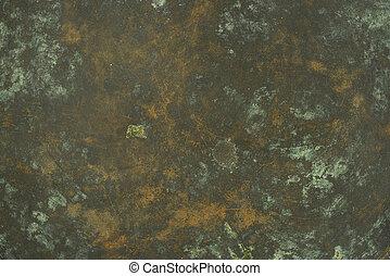 Antique rusty bronze texture