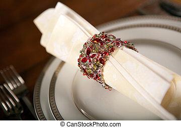 Holiday napkin ring 3