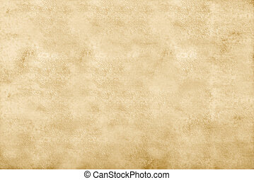 Abstract ocher background, old paper texture, blank.