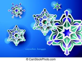 Islamic Design Art Ramadan Vector
