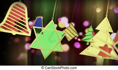 Colorful Ornaments Slinged