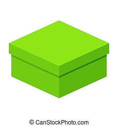 low green gift box