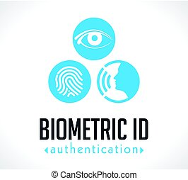Logo - Biometric ID authentication