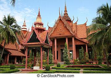 Cambodia - National Museum in Phnom Penh, Cambodia