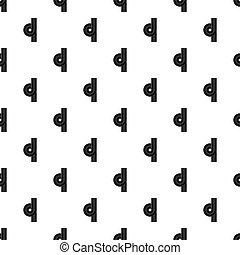 Road junction pattern seamless in simple style  illustration