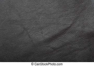 Leather scrap background