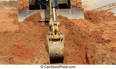 Small Excavator Shovel